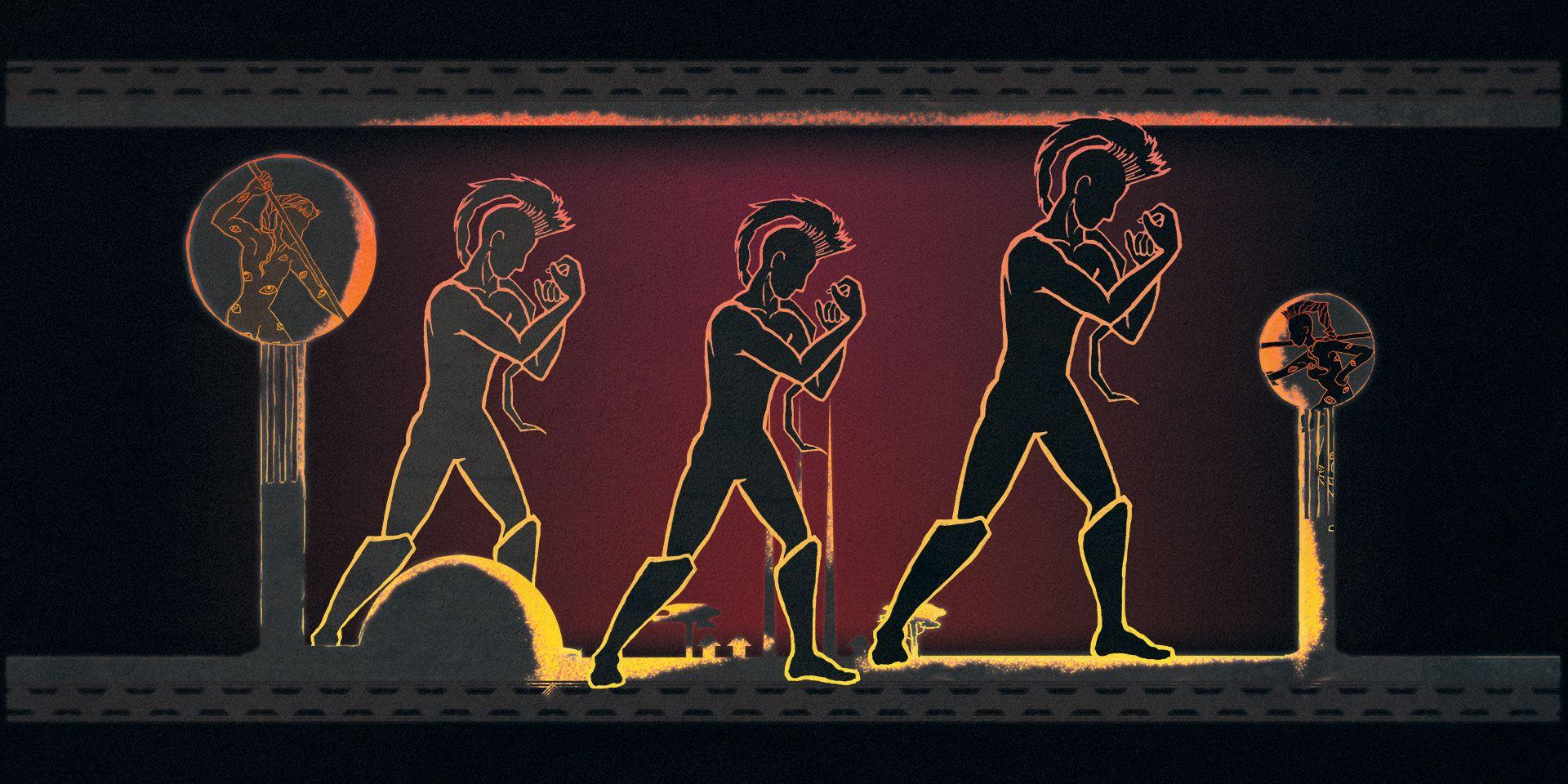 Male Eesian Gladiators